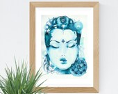 Goddess Quan Yin Art Print