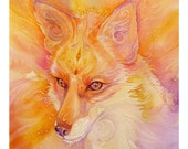 Fox Spirit Animal Art Print / A3