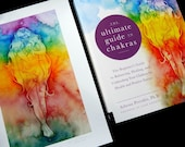 Chakra Guide Book and Rainbow Goddess Art Print