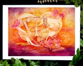 Twin Flame / Soul Mate Fine Art Print / A4