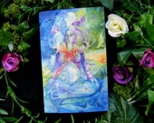 Earth Mother Gaia Goddess Greeting Card