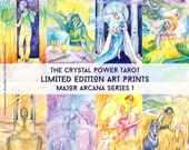 Major Arcana / Limited Edition Art Print series 1 / featured in 'Crystal Power Tarot' by Jayne Wallace, Psychic Sisters