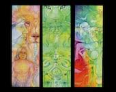Shamanic Medicine Bookmark set