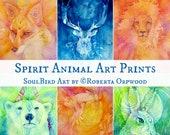 Spirit Animal A4 Art Print Collection