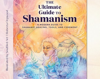 Shamanic Book 'The Ultimate Guide to Shamanism' - Author Rebecca Keating - FREE Bookmark Included