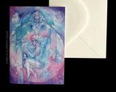 Shamanic Healing Greeting Card