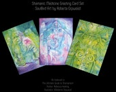 Shamanic Healing Medicine Greeting Card Set of 3