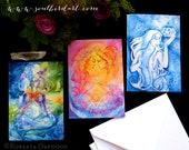 Goddess Greeting Card Set...