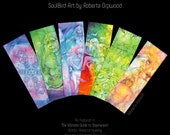 Shamanic Medicine Bookmark set of 6