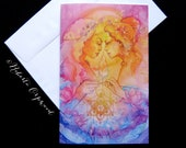 Soul Sister Goddess Greeting Card