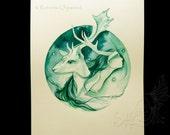 Shamanic Art / Deer Spiri...