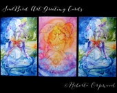 Goddess Greeting Card Set of 3