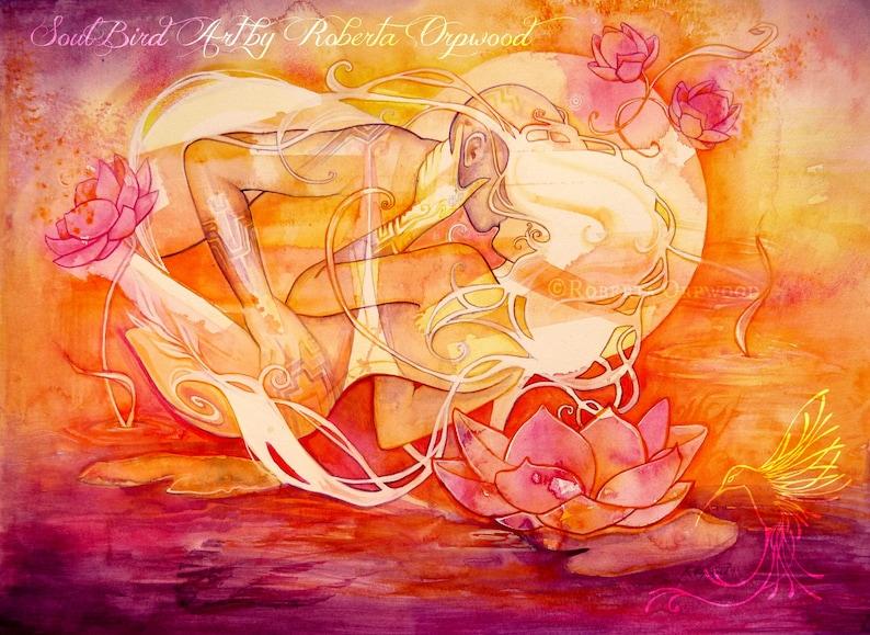 Twin Flame / Soul Mate Fine Art Print / A3 image 0
