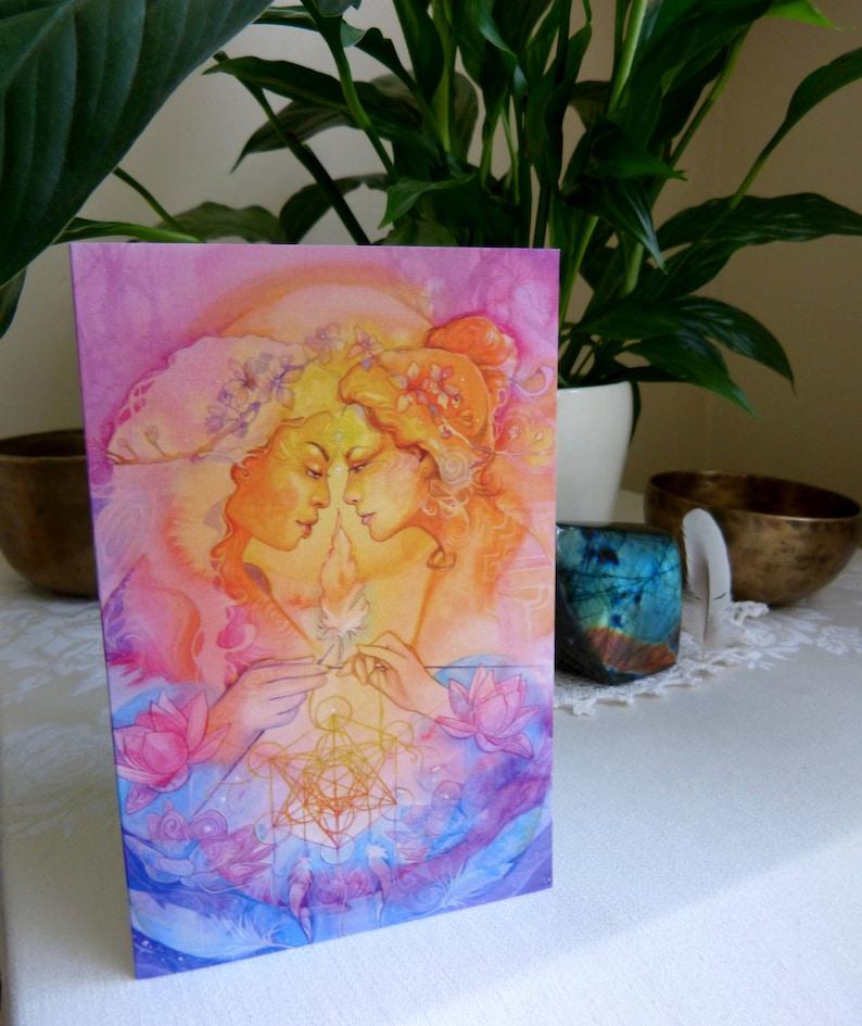 Greeting Card set of 3 Soul Sisters