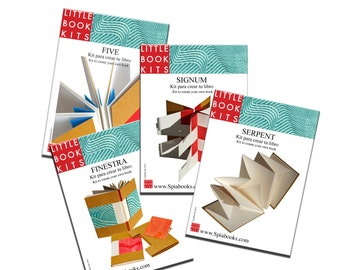 Set of 4 Little Book Kits.