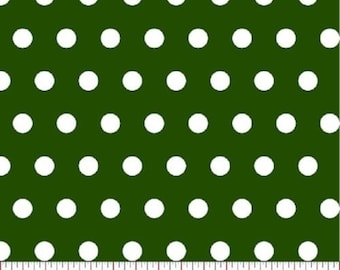 Big Dot  Hunter Dot Sewing Quilting Fabric by the Yard #400-13
