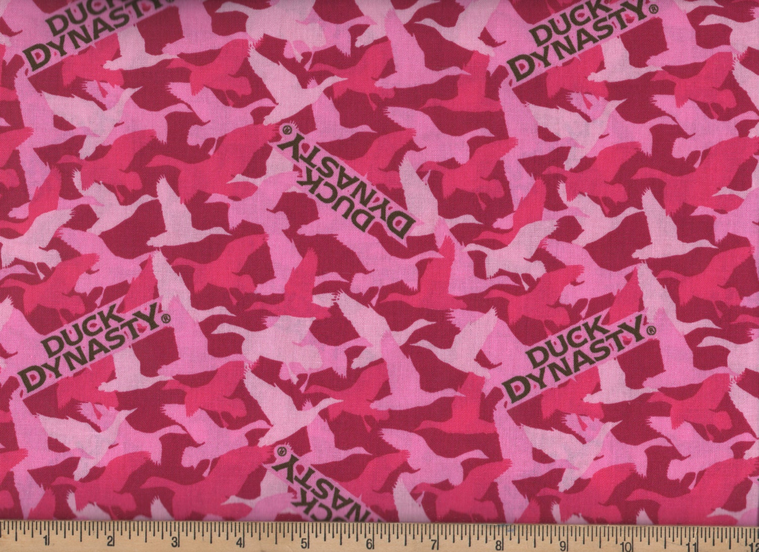 Duck Dynasty Camo Pink Cotton Camouflage Fabric By the Yard   Etsy