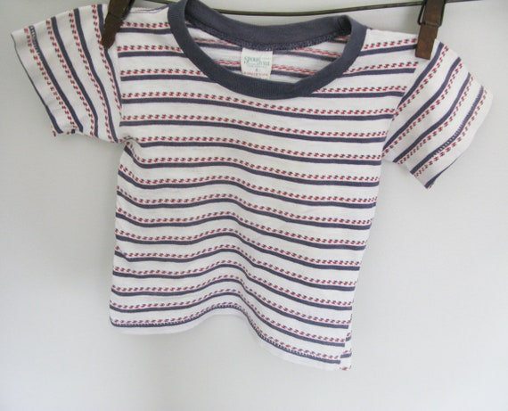 Vintage 1950's  Baby Boy - Toddler   T-Shirt // St