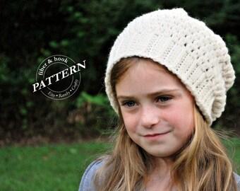CROCHET PATTERN CB Beanie with Flower Crochet Hat Pattern  63972a11986