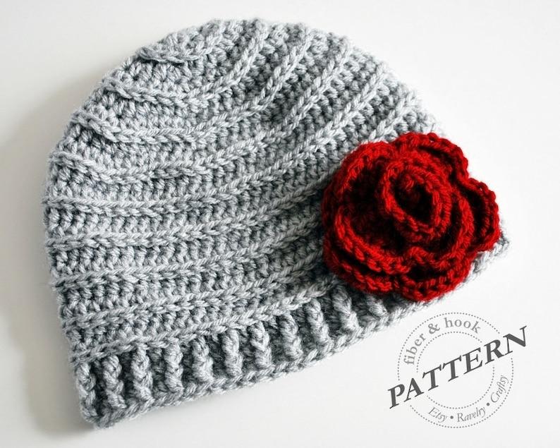 a375f2ee061 CROCHET PATTERN Crochet Beanie Pattern Crochet Hat Pattern