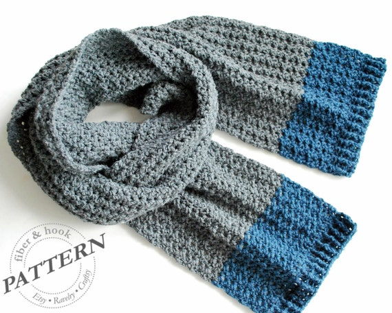 Crochet Pattern Isle Of Man Scarf Crochet Scarf Pattern Etsy
