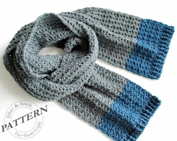 Crochet Pattern Isle Of Man Scarf Crochet Scarf Pattern Etsy