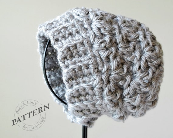 Easy Slouchy Crochet Hat Pattern Images Knitting Patterns Free