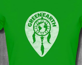 Green Earth Anti-Pollution T-Shirt Global Warming T shirts Stop Pollution Shirt Save Our Earth T Shirt Plus Size Clothing Wind charmer