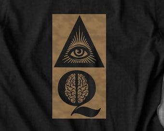 IQ T shirt  | Unisex Short Sleeve T Shirt | Gift College Graduate | Motivational T-shirt | Inspirational Gift | Free Shipping| Free Shipping