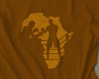 Boxing Legend T-Shirt Muhammad Ali Joe Frazier Tshirt Mens Africa T shirt Africa Men Clothing Fathers day black history african clothing