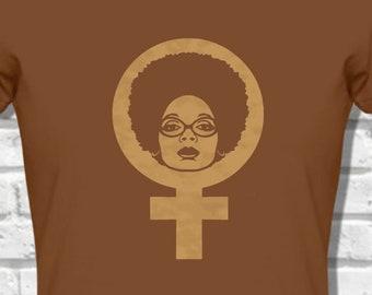 65a3560871b Strong Black Female Afro T shirt Natural Hair T-Shirt Black Lives Matter  Plus Size Clothing African Clothing African Shirt custom tees