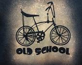 Funny T shirts Cycling T shirt Old School Bike Fixie Bike T-Shirt Fixed Gear T shirt Road Bike Cycling T shirts gifts for him stingray bike