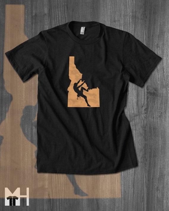 Belay All Day Climbing T Shirt