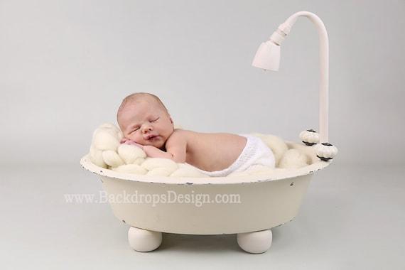 Real Not Digital Bathtub Prop Newborn Etsy