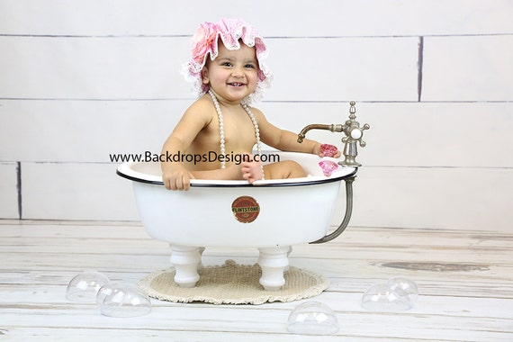 Photography Prop Baby Girl Or Boy Bathtub Baby Toddlers Etsy