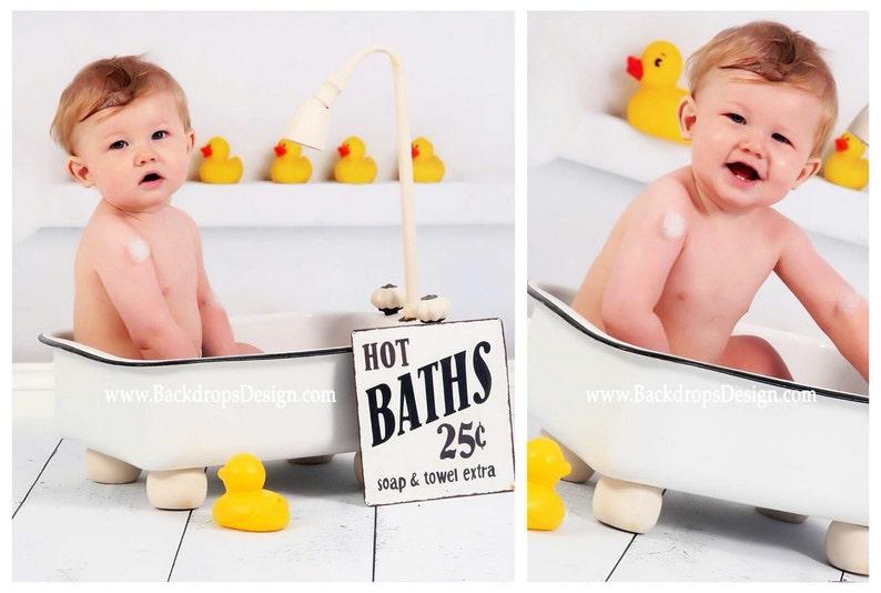baby photography prop bathtub newborn todlers baby girl boy | etsy
