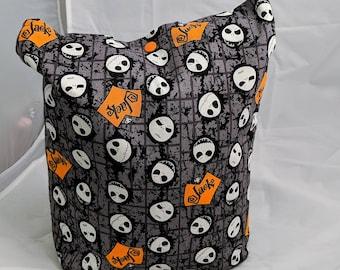 Nightmare Before Christmas Tote Bag, Jack Skellington Tote Bag, Disney Tote Bag