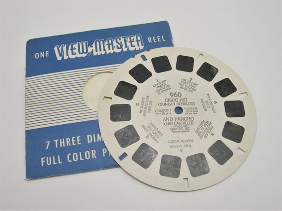Cisco Kid And Poncho Vintage Sawyers Viewmaster Reel 960