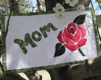 Mom Mug Rug Pattern