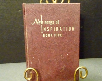 1963 New Songs of Inspiration - Book Five- 280 pages of songs-