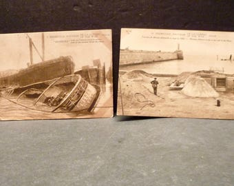 Aq. Zeebrugge Great War French Postcards