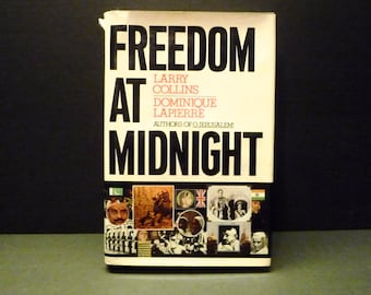 SALE -Freedom At Midnight ~ Simon &Schuster New York 1975~ 1st Edition Hardcover