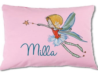 sweet fairy pillow with name 20 x 30 cm