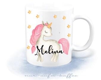 Cup - Unicorn Wish Name