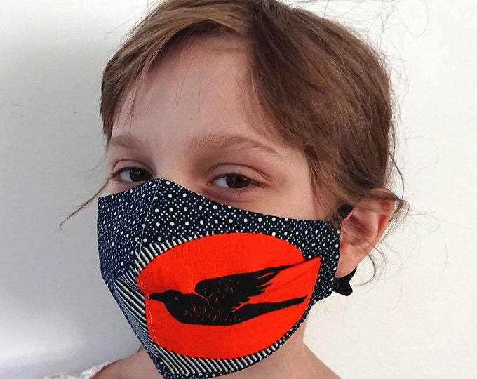 Face Mask for Children made of washable Cotton