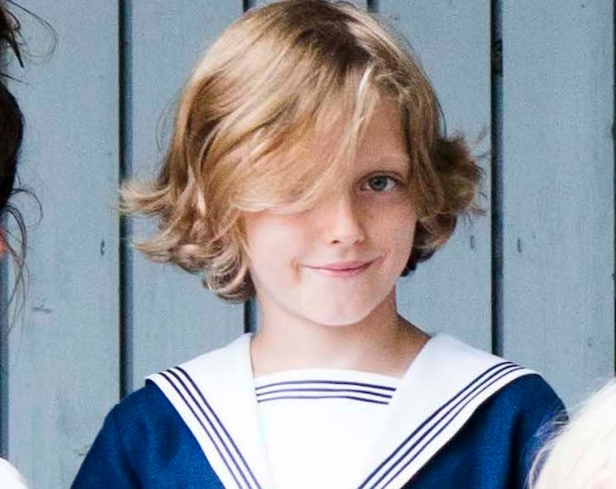 Sailor Suit EGON - Nautical Suit  Traje de marinero - Victorian boys Sailor Suit