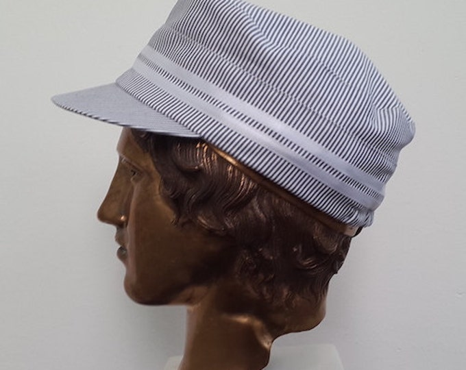 Boy Sailor Cap light blue