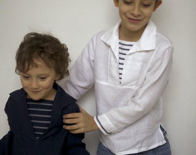 Linen Shirt TONIO marin