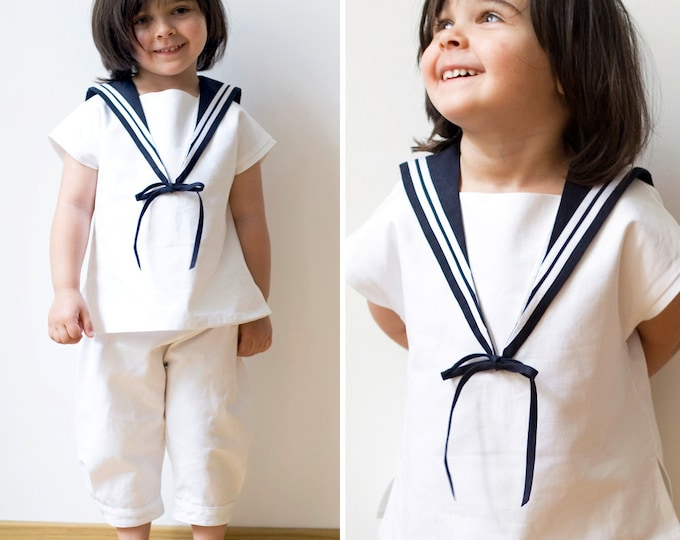 Girls Sailor Suit QUAPP de luxe