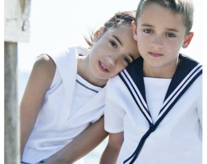 Sailor Shirt for Boys Summer Deluxe Edition
